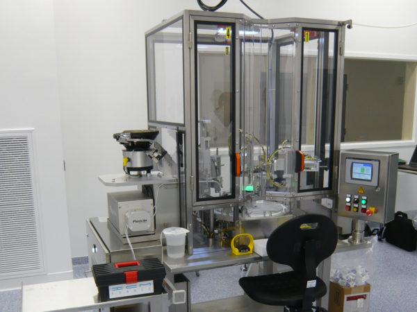Sondermaschinen: Halbautomaschine Montageanlagen