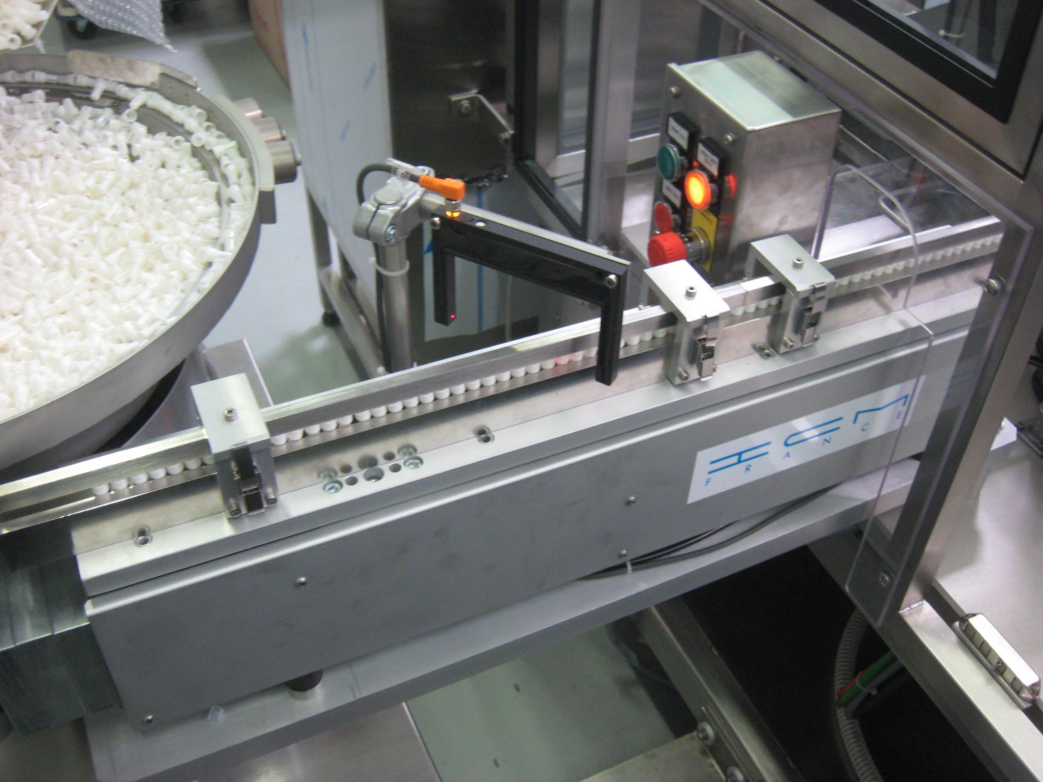 Feeding systems: vibrating bowl feeder, conveyor, hopper | ICM