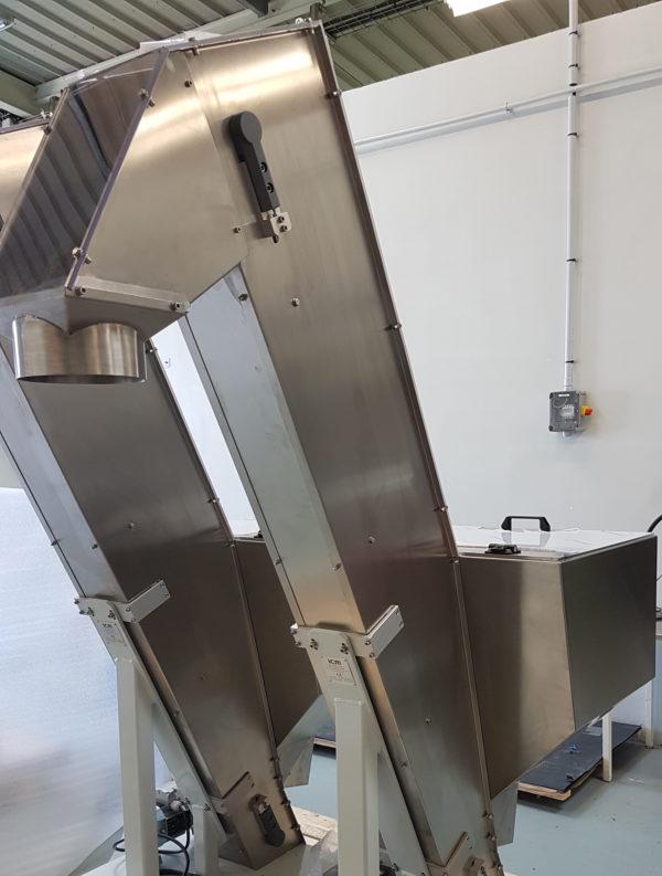 Zuführtechnik: Steilförderer