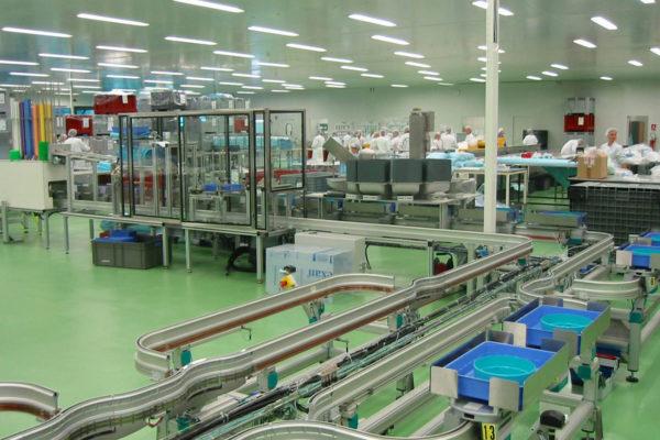 Sondermaschinen: Längstransfer-Montagemaschinen