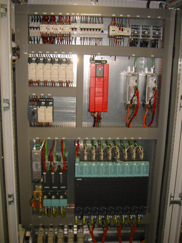 Industrial automation with integration of remote maintenance module
