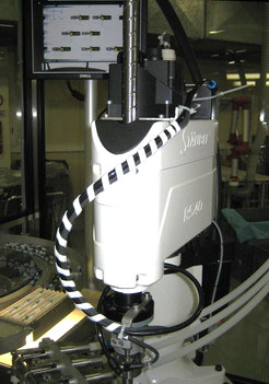 Feeding Systems : Integration of industrial robotics and machine-vision