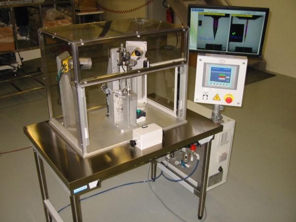 Sondermaschinen: Manuelle Montagemaschine