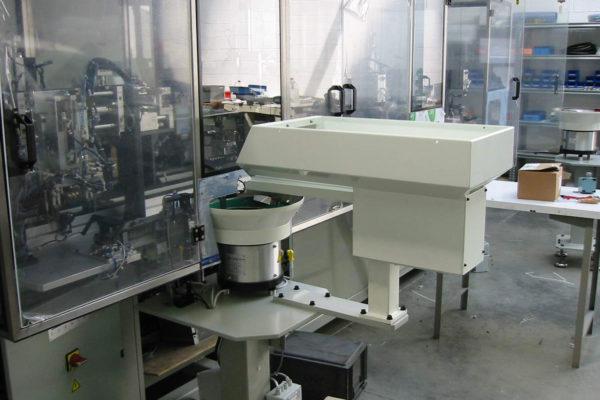 Zuführtechnik: Vibrationsbunker